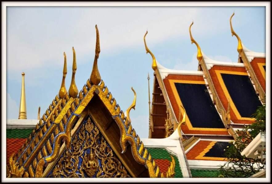 Photo prise au Palais royal de Bangkok (Thaïlande), par Pixie