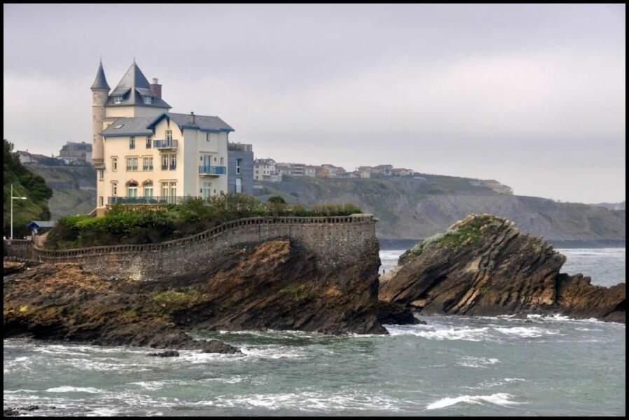 Photo prise à Biarritz (Pyrénées-Atlantiques) par le GEOnaute : Pixie