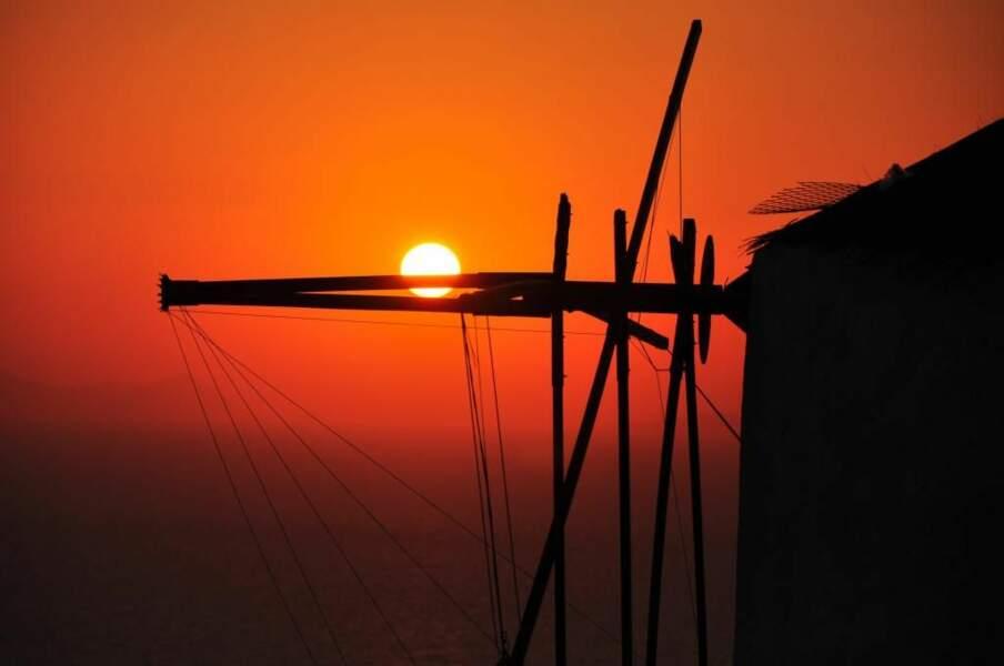 Photo prise à Santori (Grèce) par le GEOnaute : jlma59