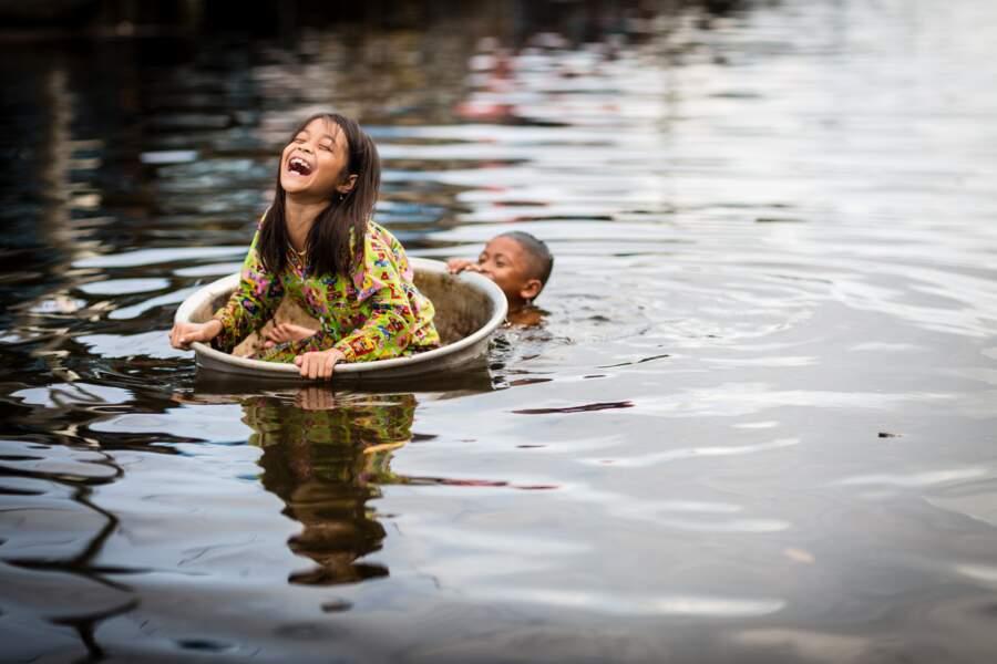 5ème prix du jury ex-aequo : une photo de Régis Binard au Cambodge