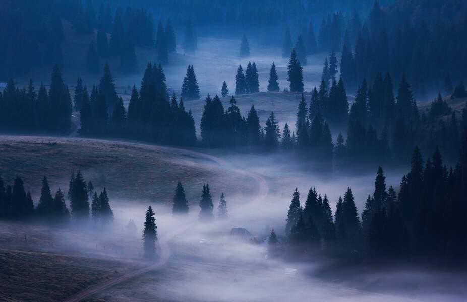 Terres mystiques dans le parc naturel Apuseni, en Roumanie