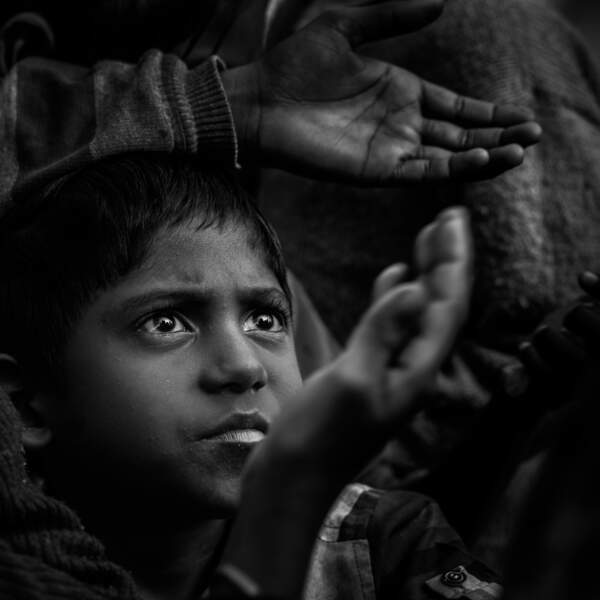 4ème prix du jury ex-aequo : une photo de Cyril Borello en Inde