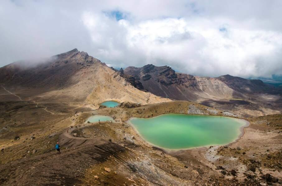 Vue sur le Tongariro Alpine Crossing