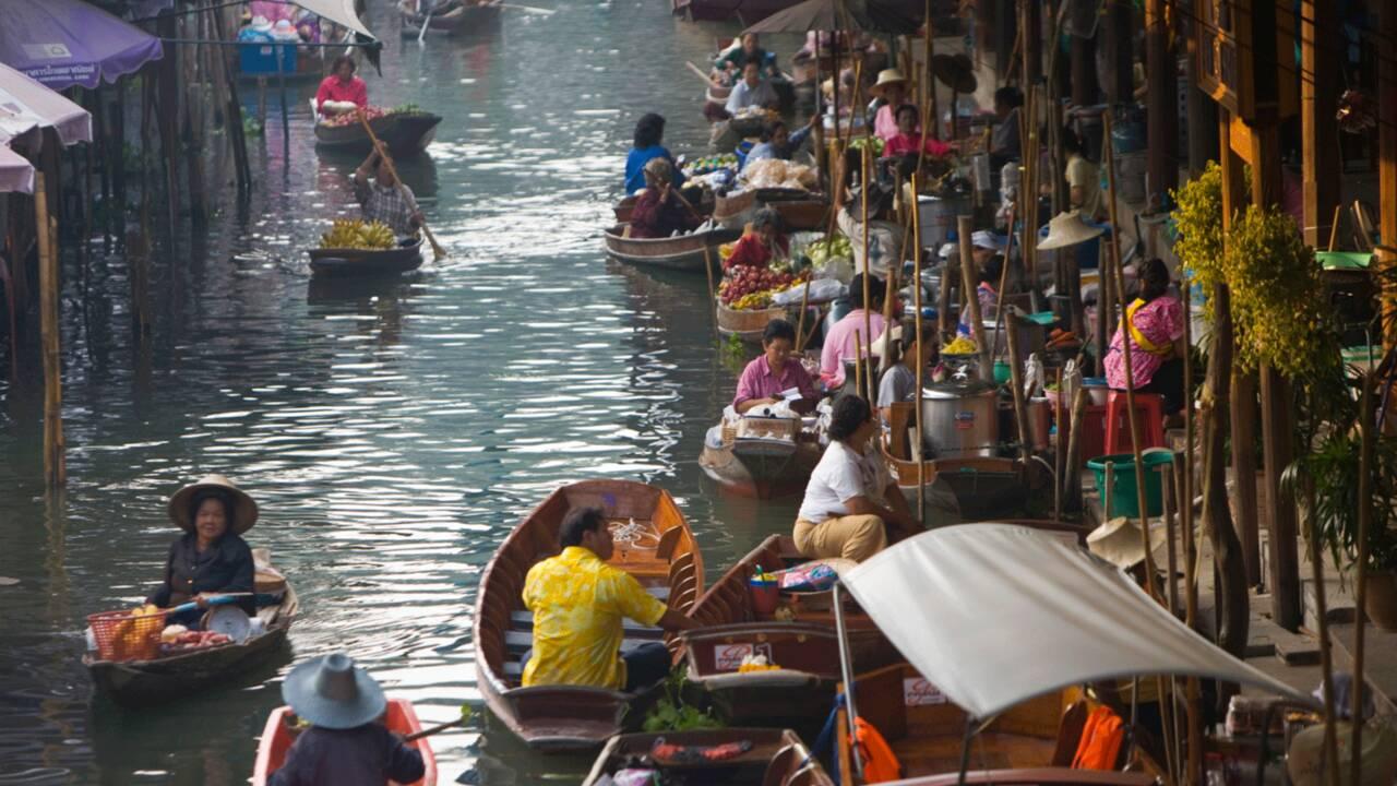 Bangkok au fil de l'eau