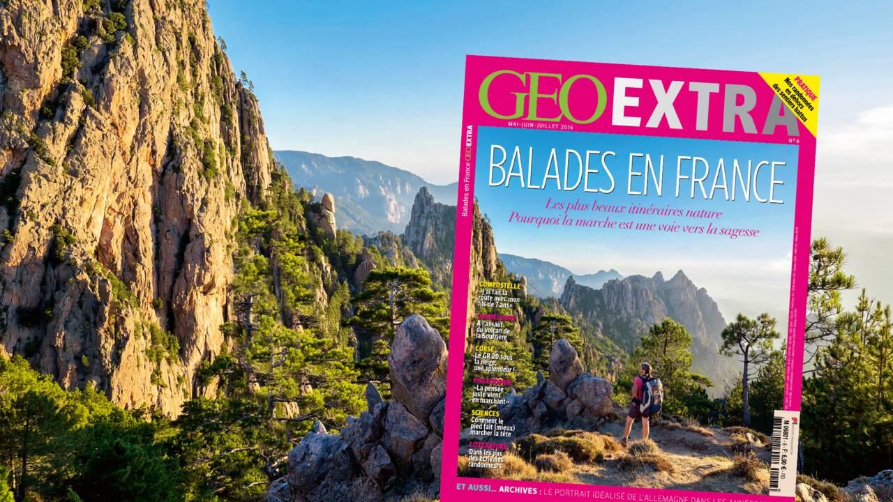 Balades en France, dans le nouveau GEO Extra