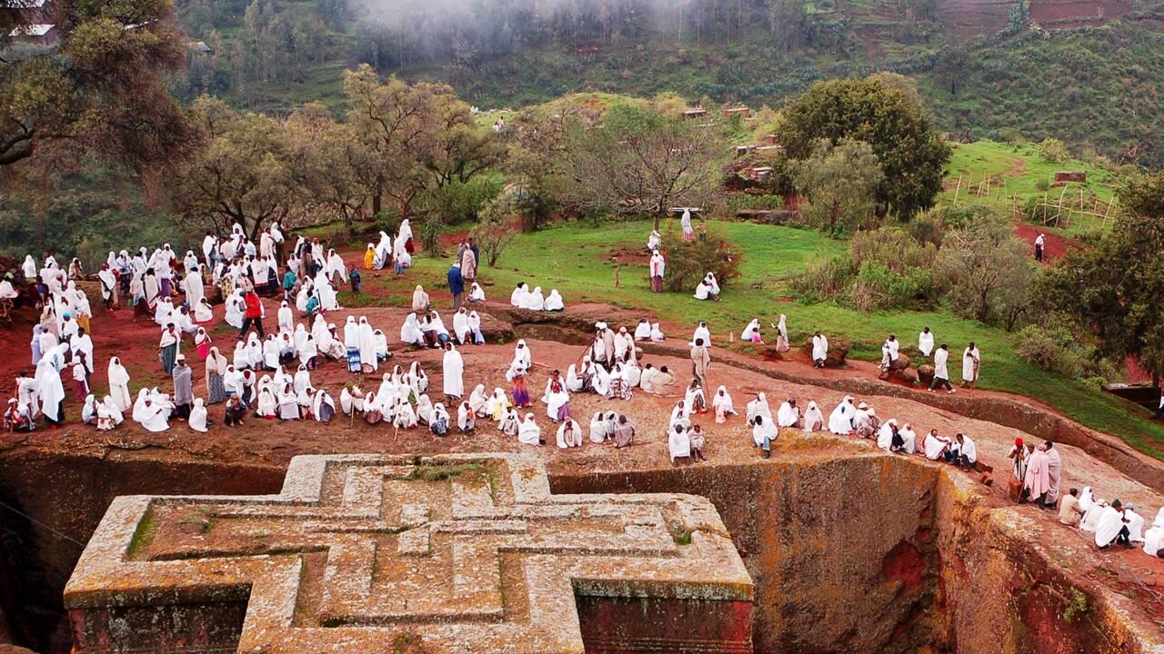 Ethiopie : Lalibela, ville sainte des chrétiens orthodoxes