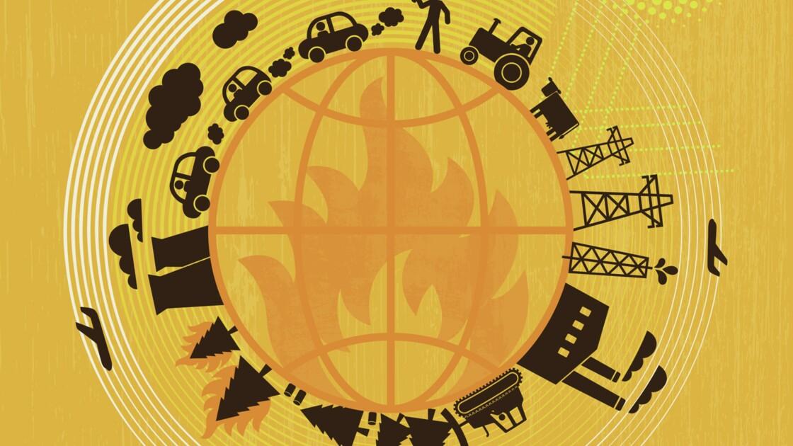 INFOGRAPHIE : Un accord mondial de réduction du CO2 aux effets limités