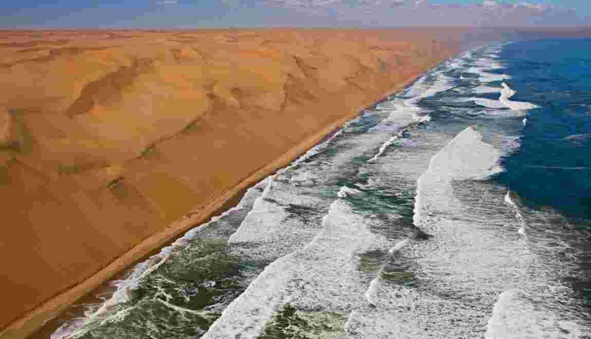 namibie le d sert bien vivant de la c te des squelettes geo fr rh geo fr namibia flag namibia africa