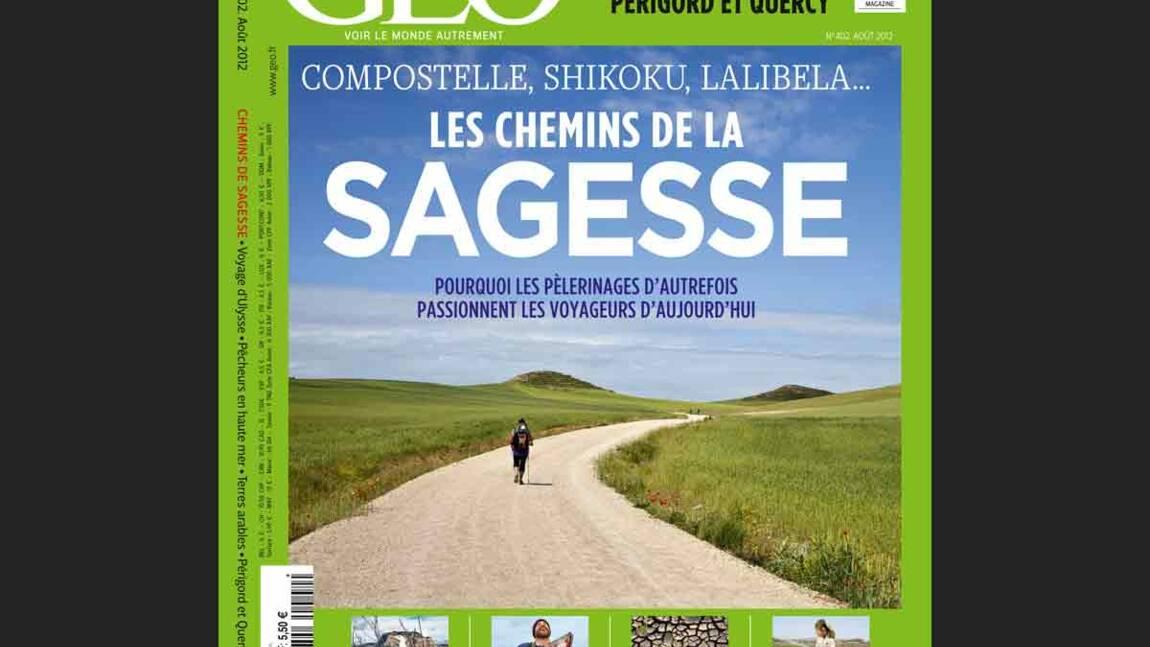 Magazine GEO - Les chemins de la sagesse (août 2012)