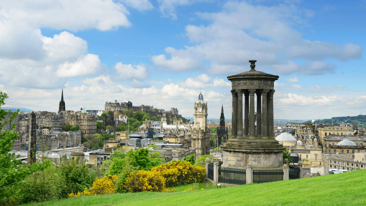 Écosse : Édimbourg, une cité en majesté