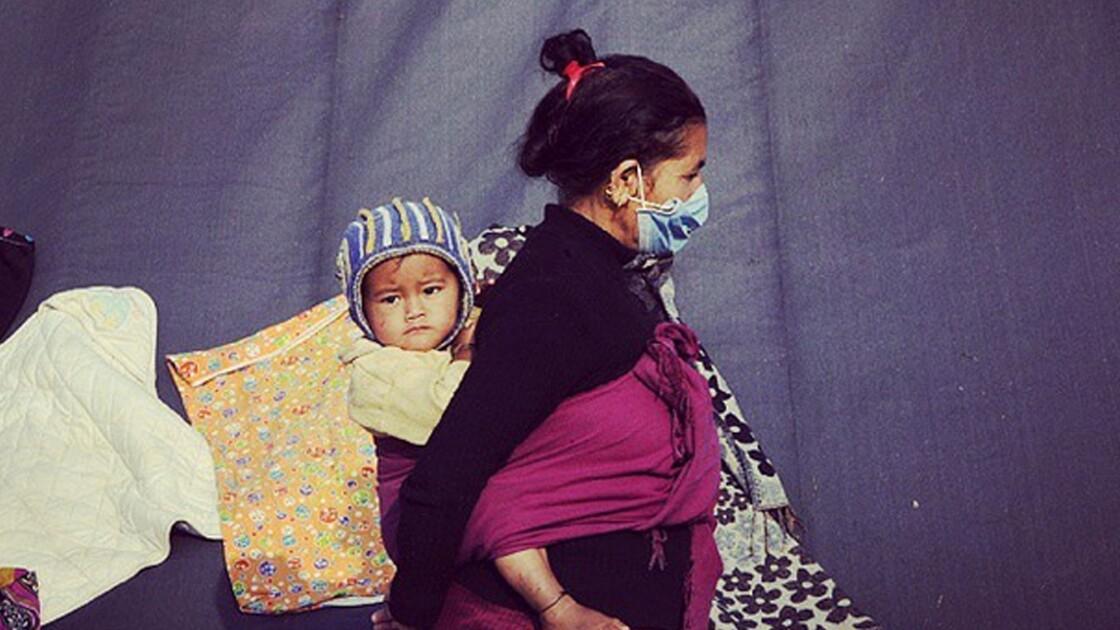 Après le séisme, des photographes utilisent Instagram pour aider le Népal