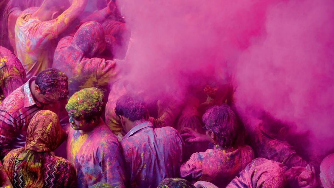 VIDÉO : En Inde, les fêtes de Holi comme si vous y étiez