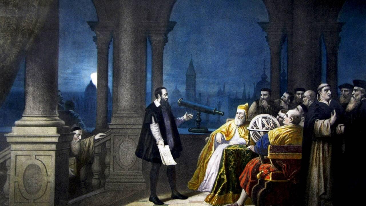 Galilée, le découvreur d'étoiles qui a osé défier l'Eglise