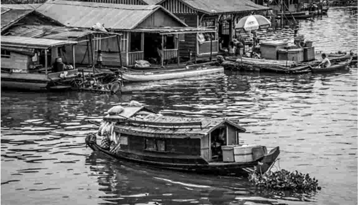 Cambodge : sur le lac Tonlé Sap