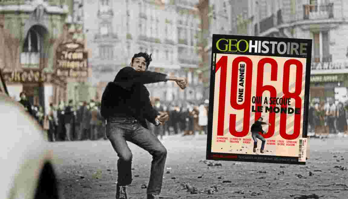 1968 : une année qui a secoué le monde, dans le nouveau numéro de GEO Histoire