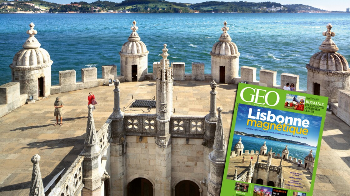 Lisbonne dans le nouveau magazine GEO