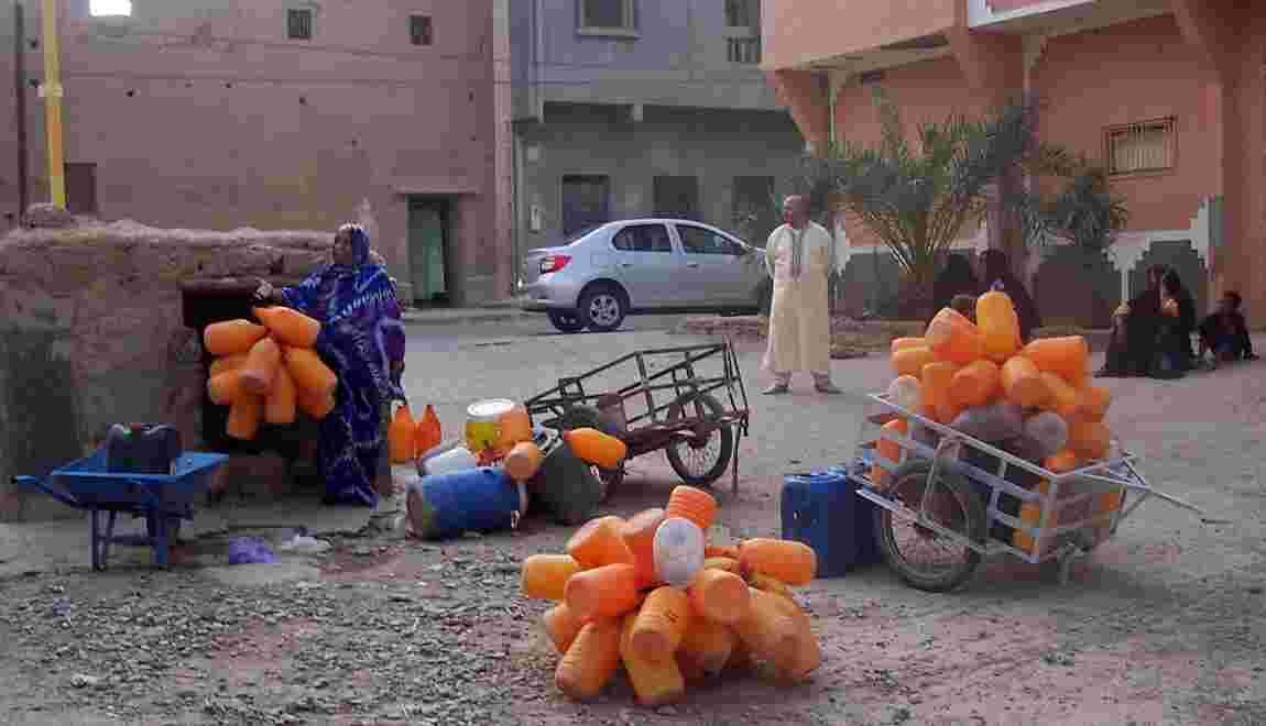 """Dans le sud marocain, des """"manifestations de la soif"""" contre les pénuries d'eau"""