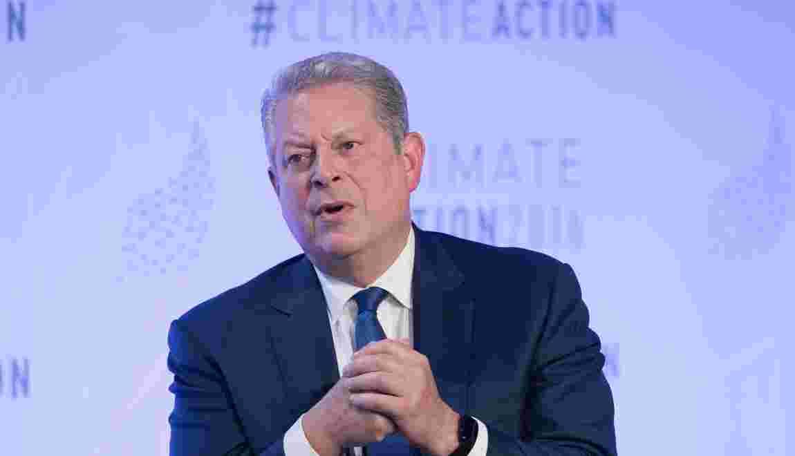 Al Gore bat le rappel sur le climat alors que Trump arrive au pouvoir