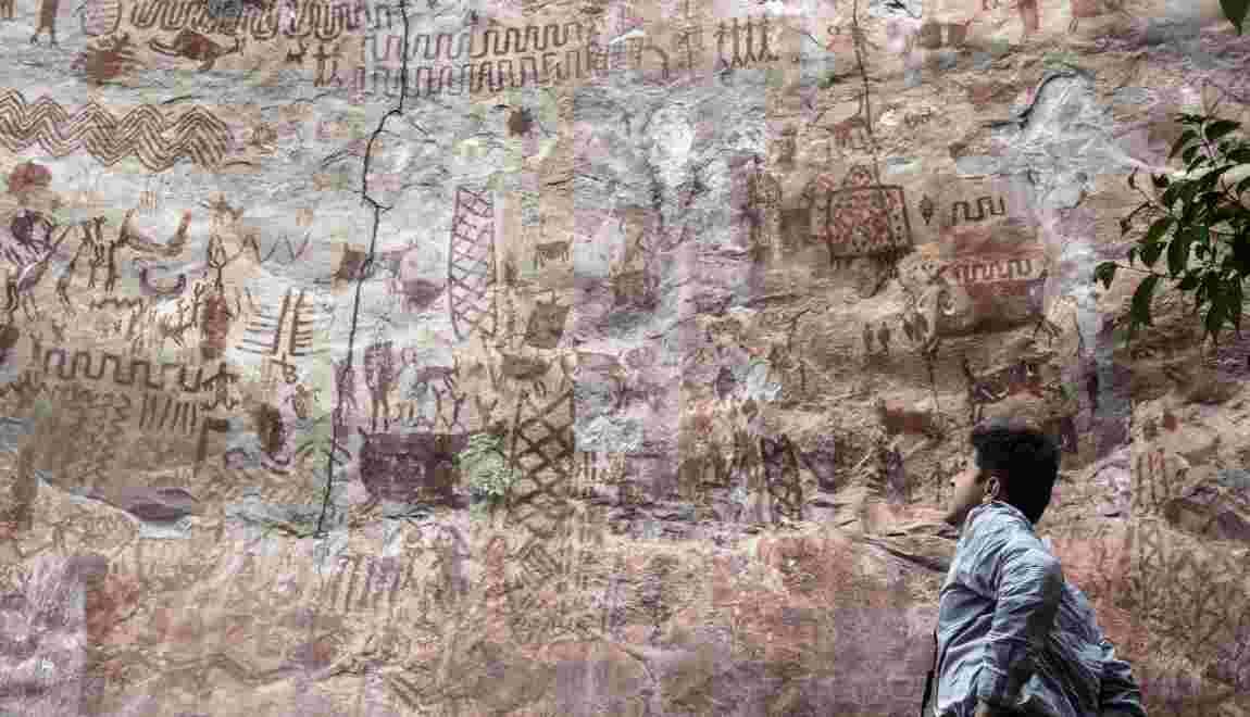 Colombie : la paix dévoile des merveilles d'art rupestre cachées dans la jungle