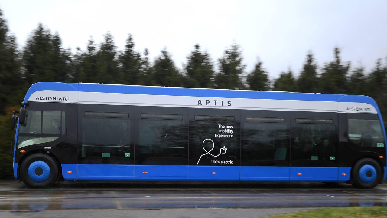 Alstom dévoile une nouvelle génération de bus électriques