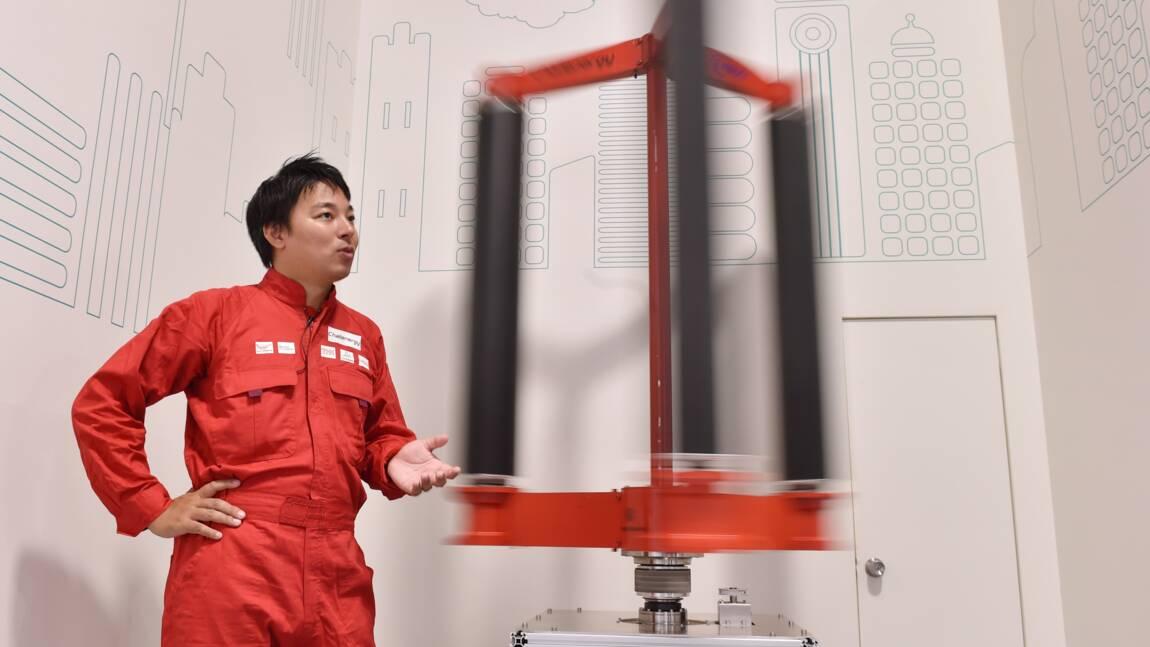 Au Japon, la première éolienne capable de braver les typhons