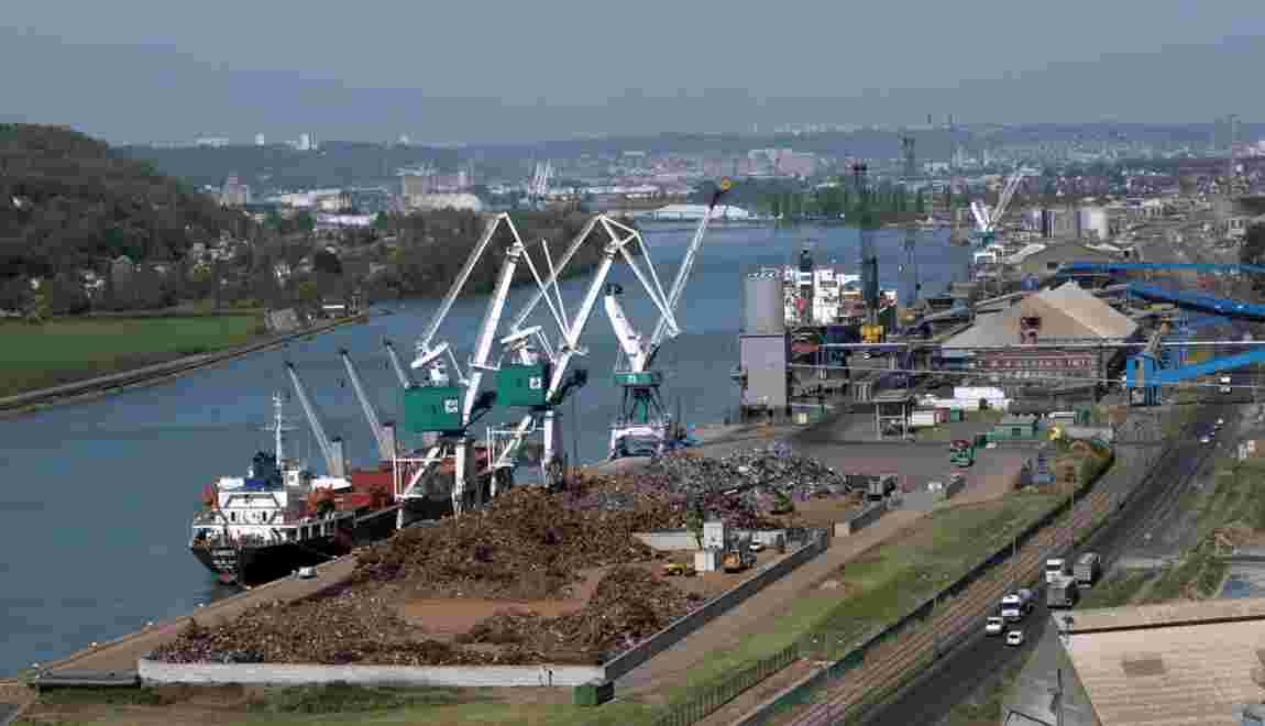 Avis favorable à l'immersion de boues de dragage du port de Rouen
