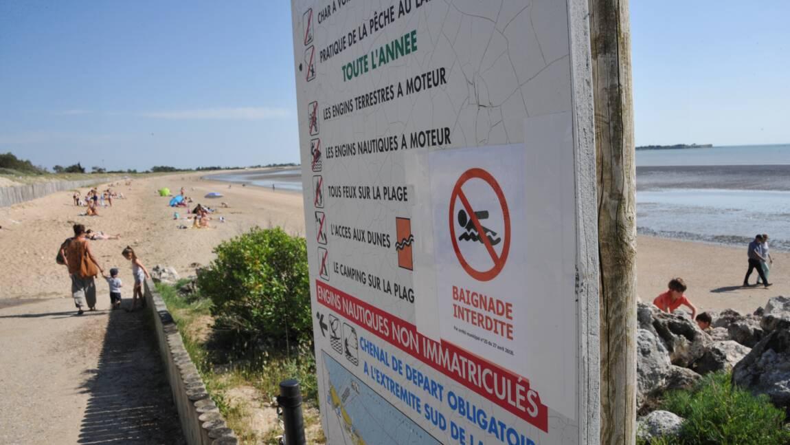Charente-Maritime: une pollution d'origine inconnue interdit la plage d'Aytré