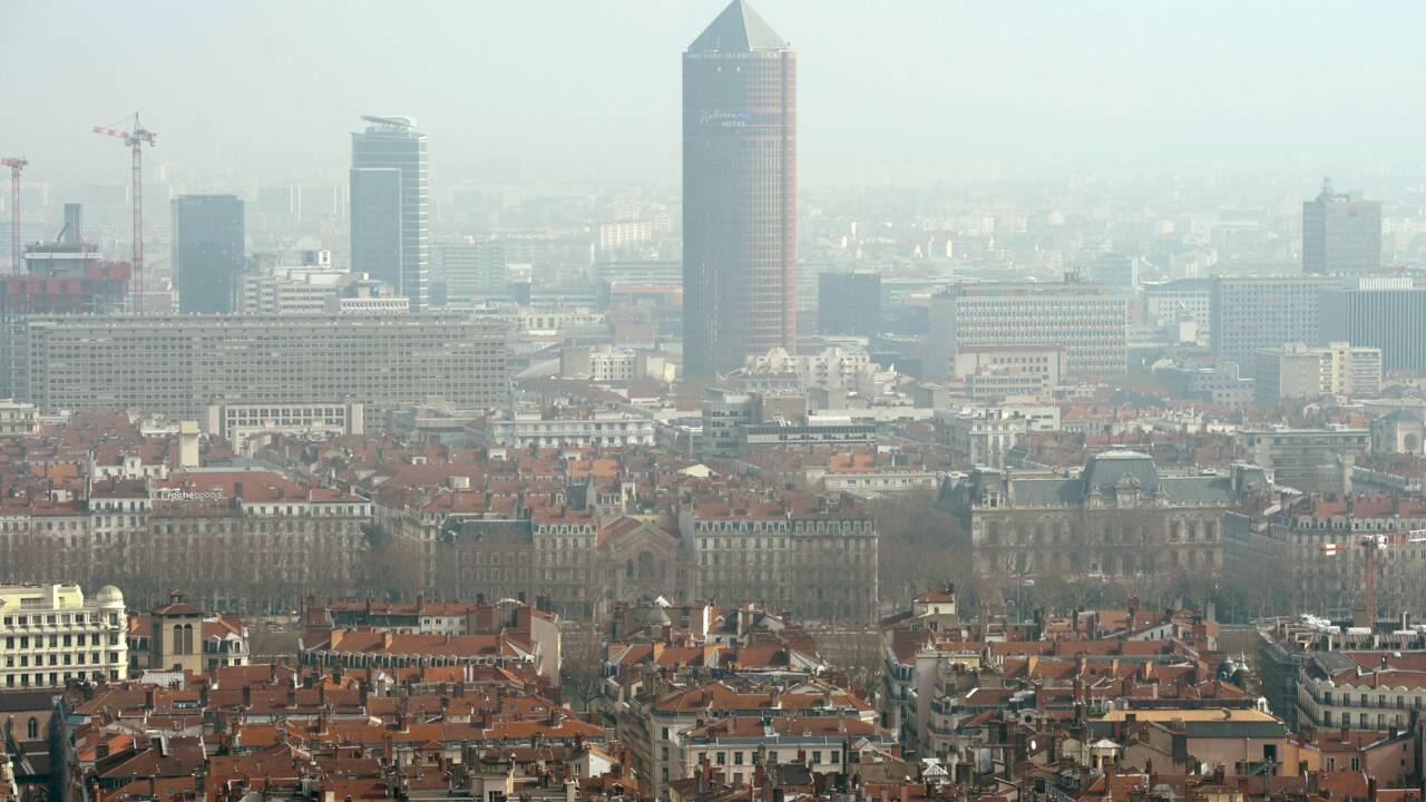 Pic de pollution à Lyon et dans les Alpes