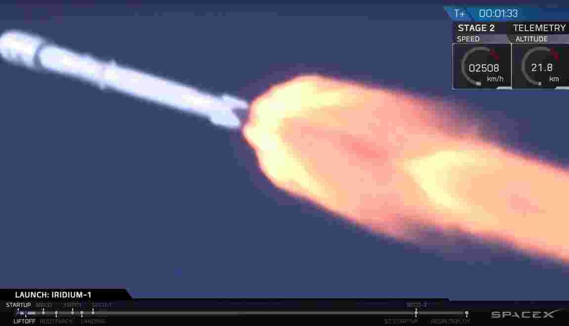 Succès du lancement de la fusée de SpaceX