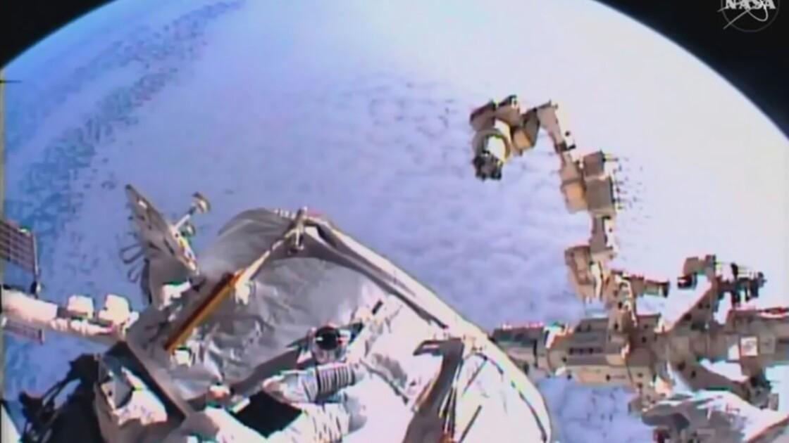 Médecine, physique, vols habités: l'ISS, un gigantesque laboratoire