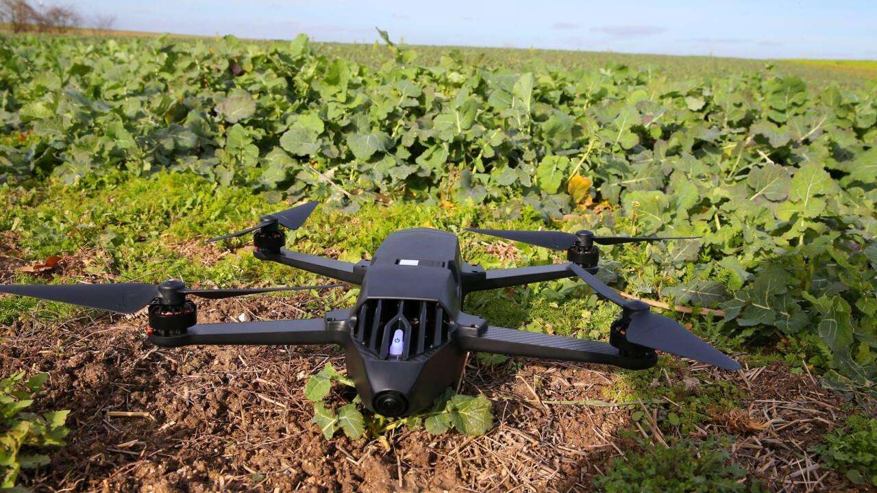 Dans l'Aube, drones et balises scrutent une ferme sous toutes ses coutures