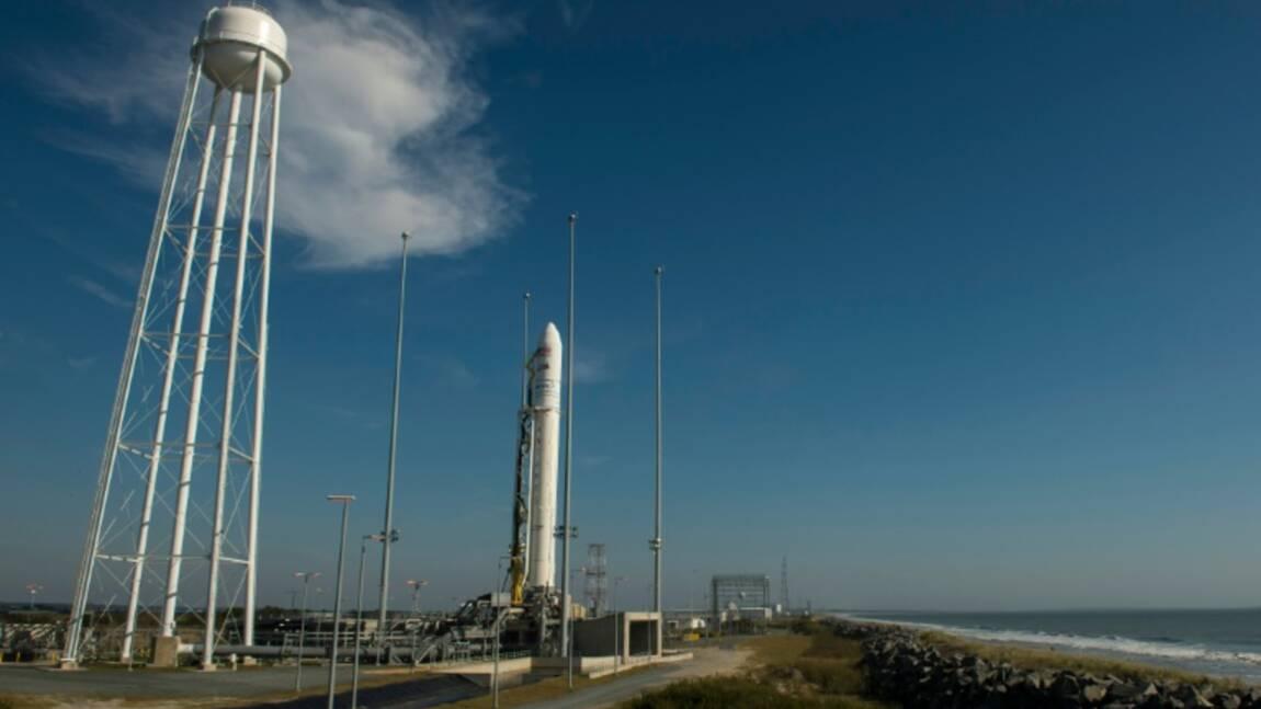 Lancement de la capsule Cygnus d'Orbital ATK vers l'ISS