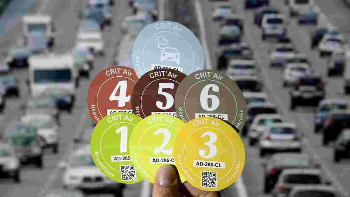 Canicule/pollution: fin de la circulation différenciée lundi à Paris et Strasbourg