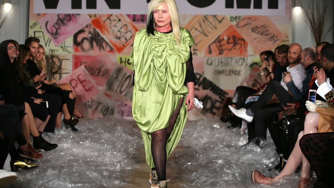 """GB: la chanteuse de Blondie porte-drapeau de la mode """"écolo"""""""