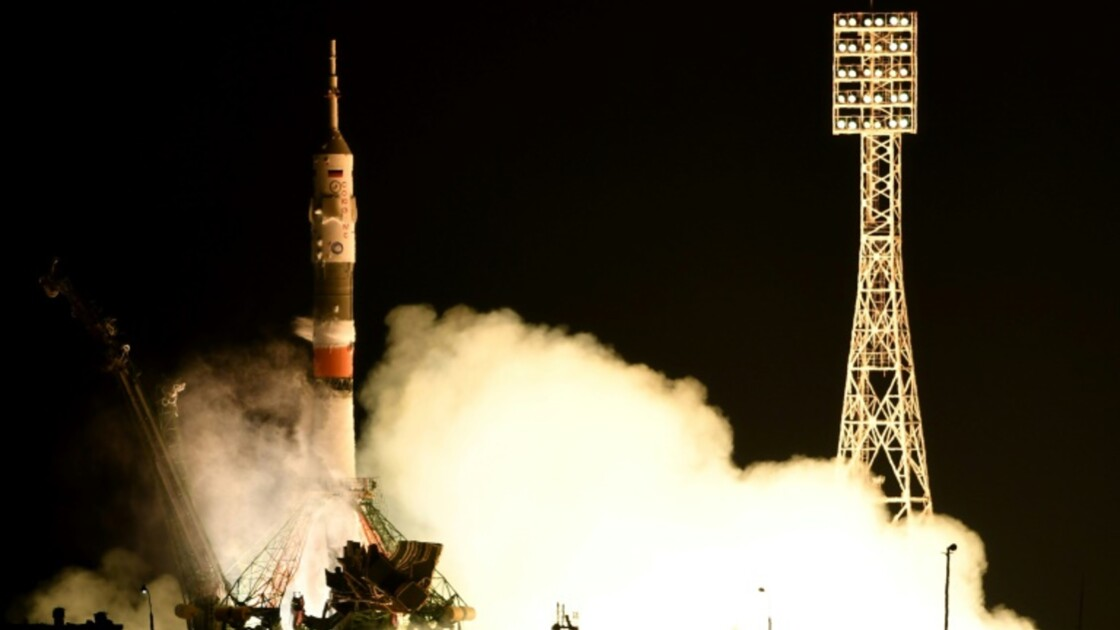 Trois astronautes, dont un Français, sont partis pour l'ISS