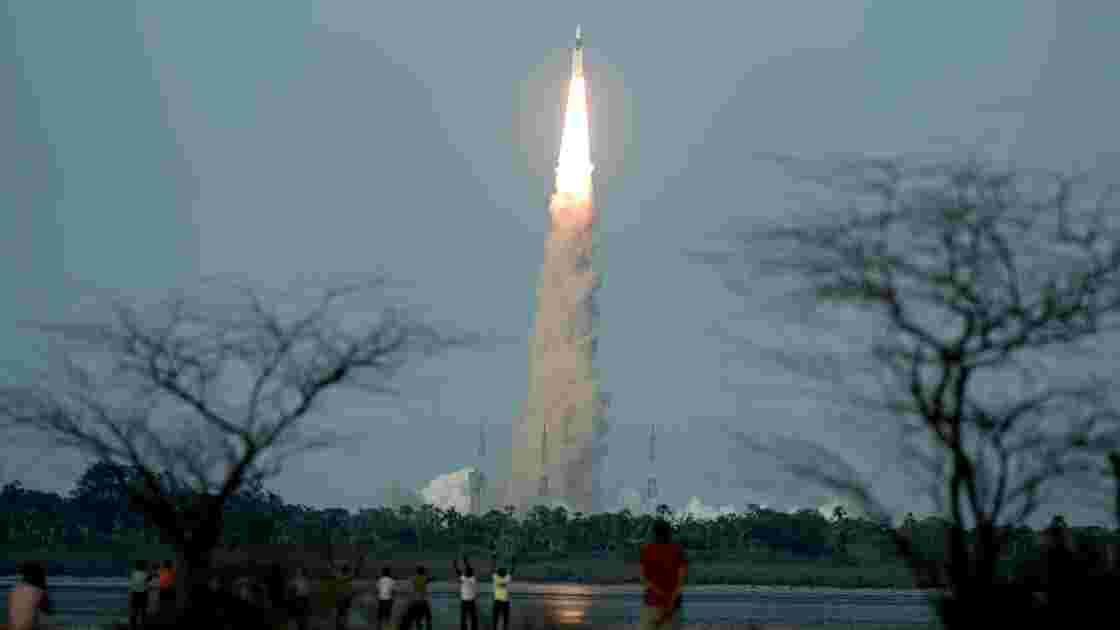 New Delhi tire une nouvelle fusée 100% indienne