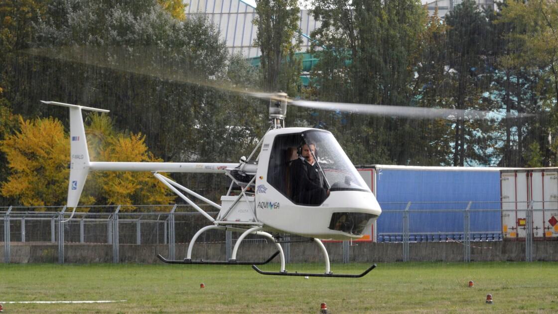 Vol inaugural de Volta, l'hélicoptère conventionnel 100% électrique