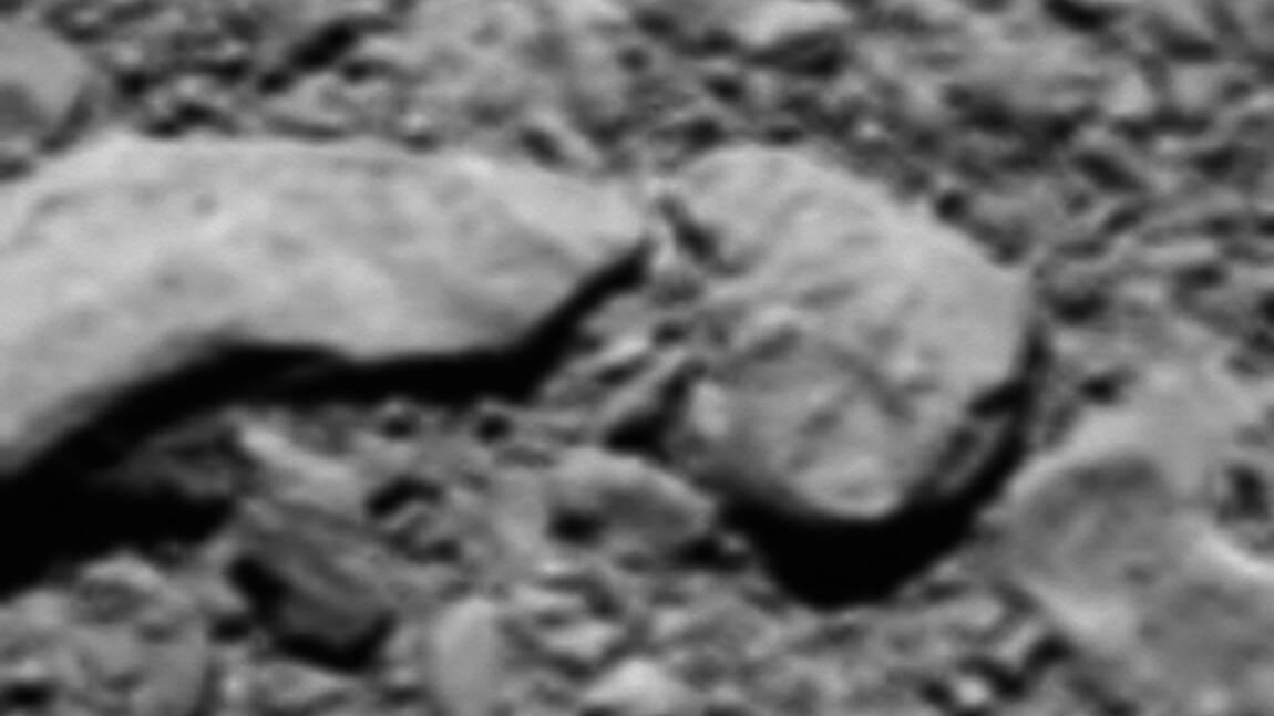 Rosetta: une ultime photo en guise de cadeau d'adieu