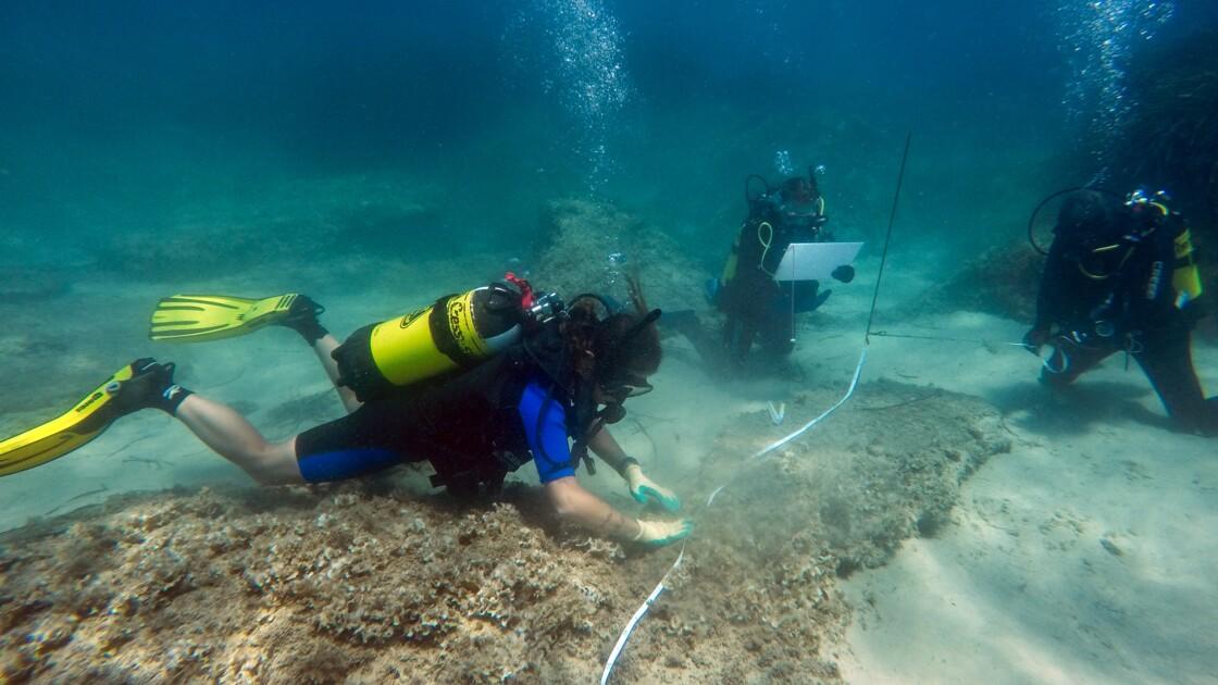 Tunisie: découverte de vestiges romains engloutis par un tsunami