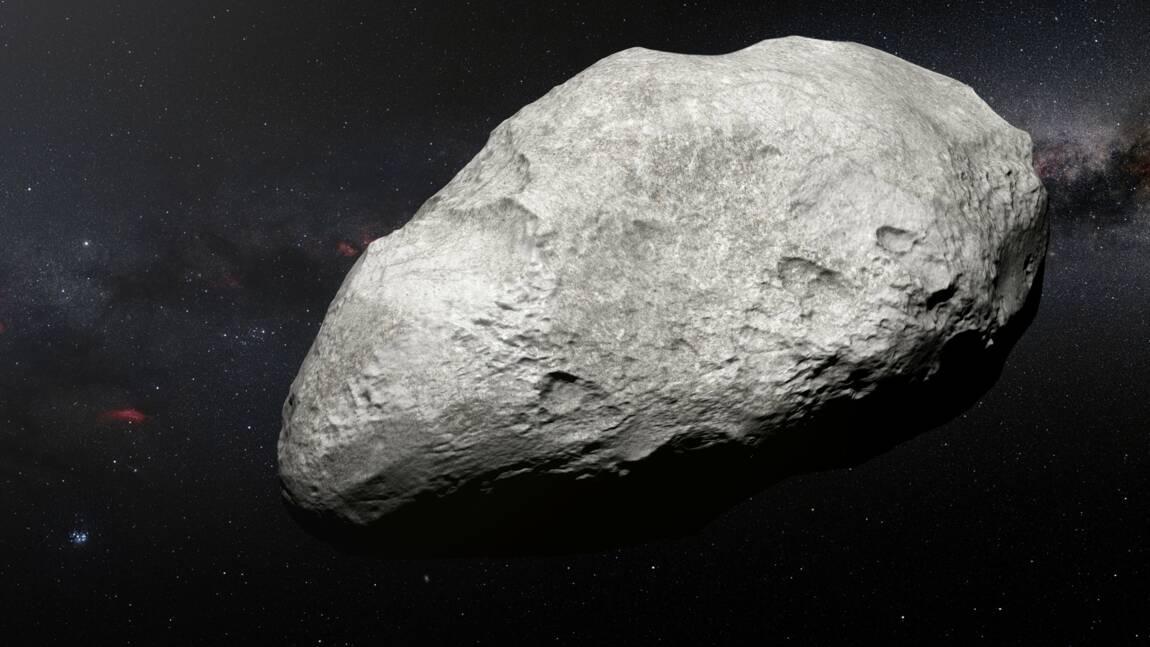 Découverte d'un astéroïde expulsé loin de sa région natale