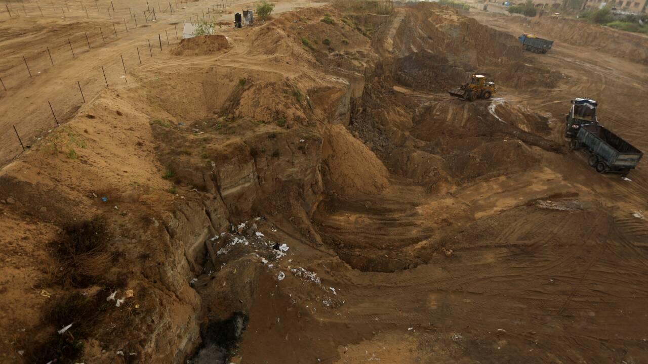VIDÉO - A Gaza, l'âge du bronze disparaît sous le béton