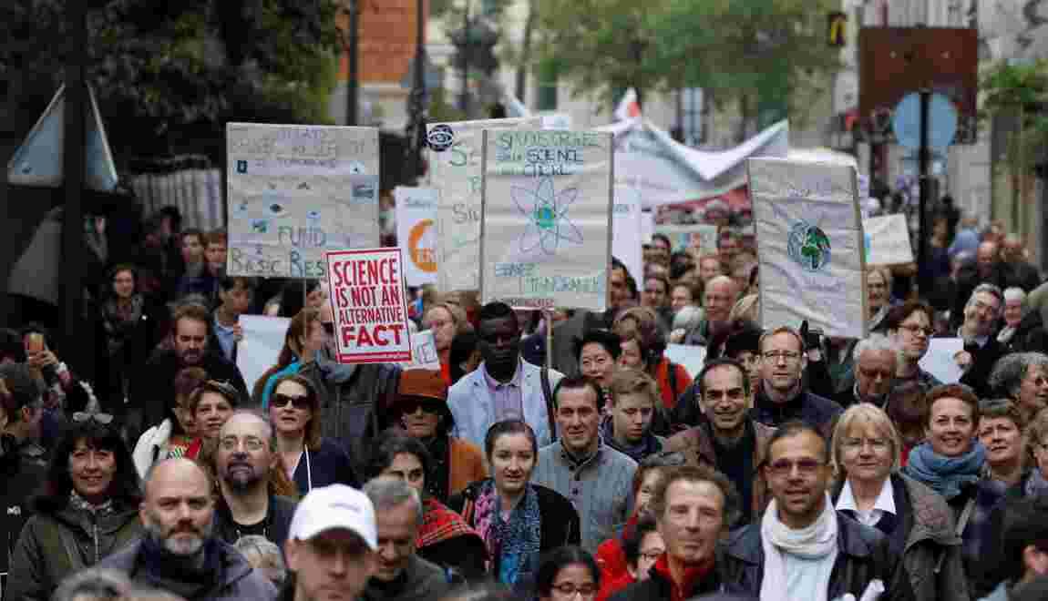 """On a marché """"pour les sciences"""" dans plus d'une vingtaine de villes en France"""