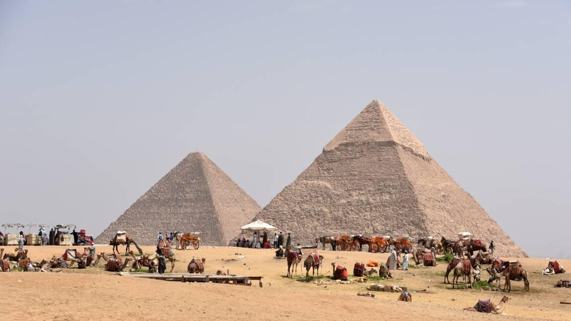 """Polémique autour de la """"découverte"""" d'une immense cavité dans la pyramide de Khéops"""
