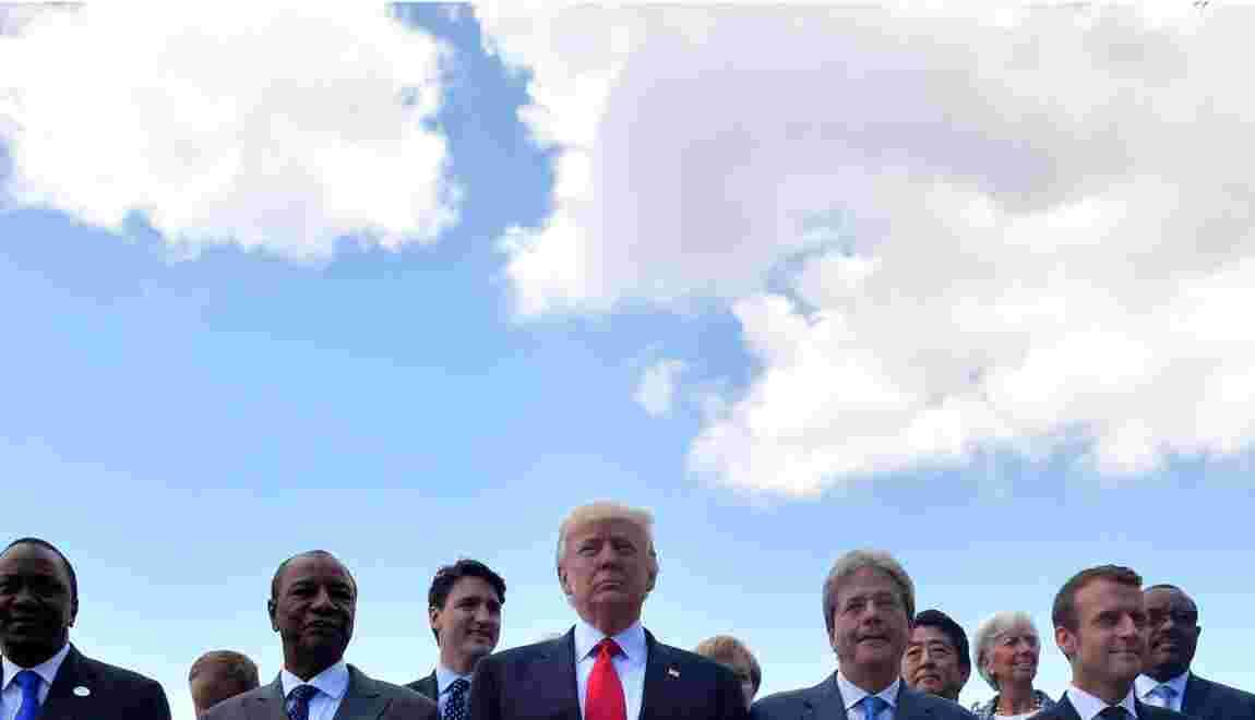 Climat: pas d'accord au G7 avec les Etats-Unis