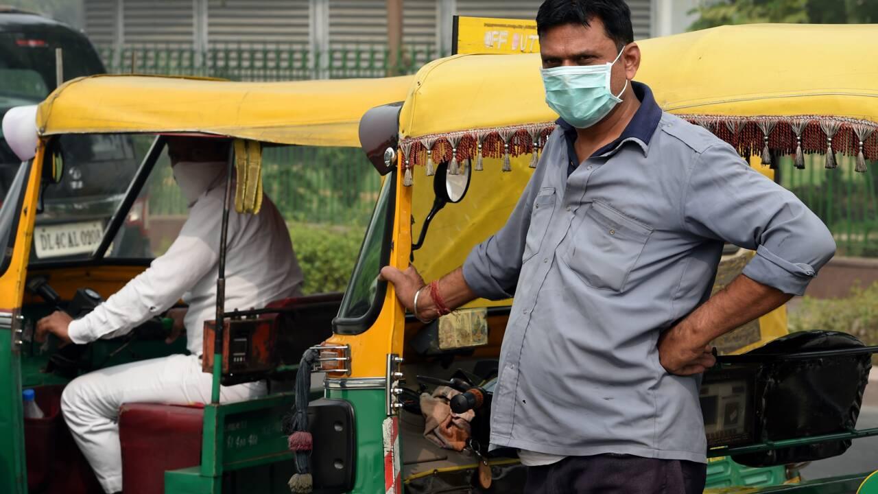 Le nord de l'Inde enveloppé dans une épaisse pollution