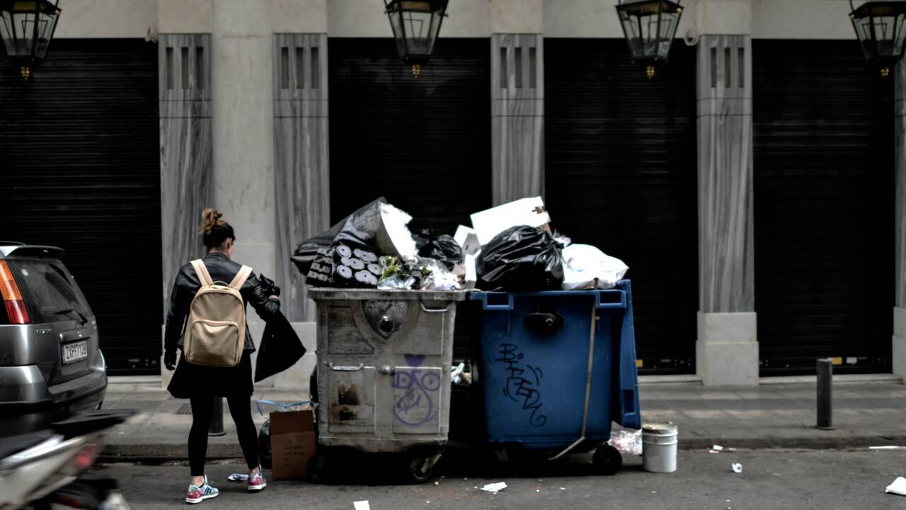 En Grèce, le recyclage est à la traîne