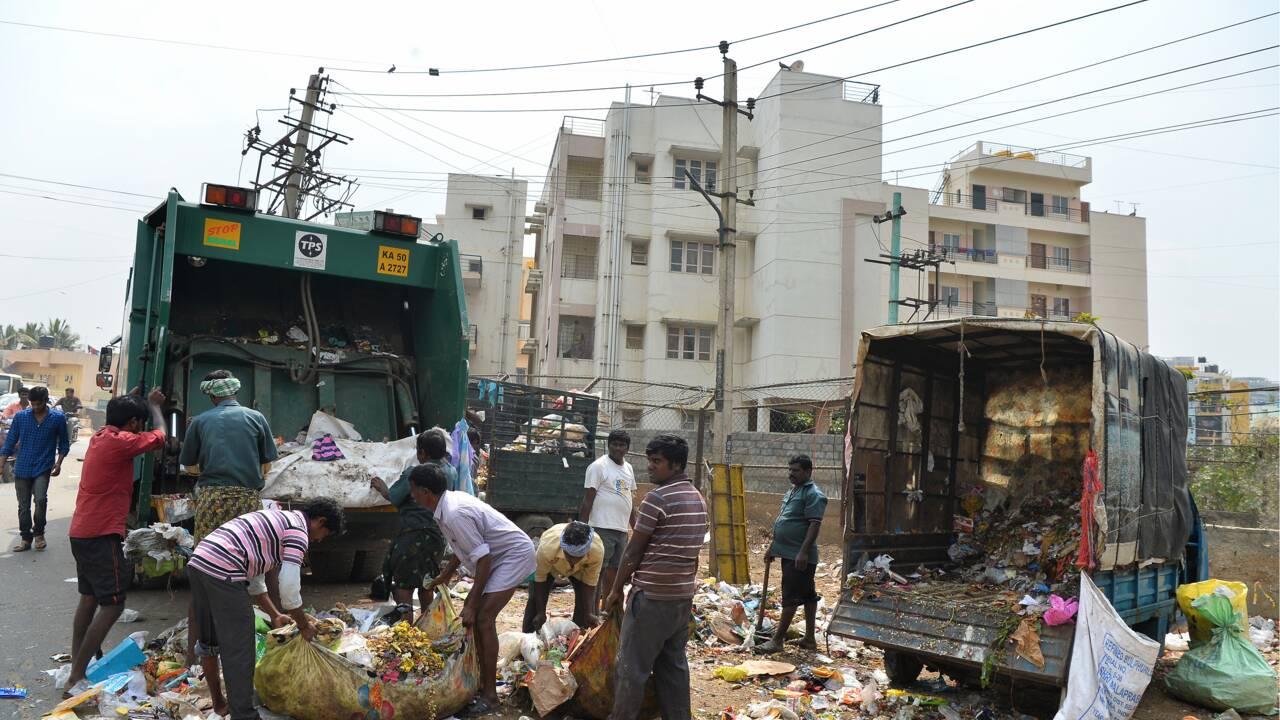 La Silicon Valley de l'Inde face au casse-tête des poubelles