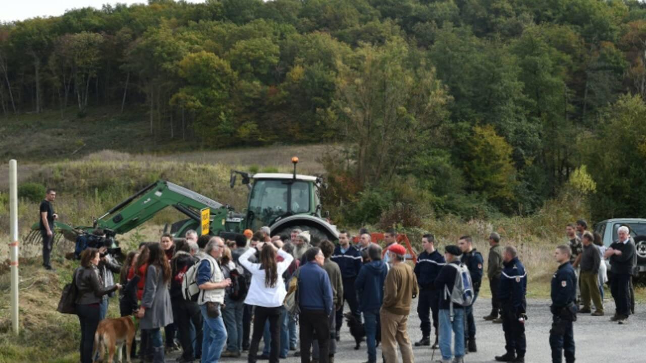 Commémoration sous tension à Sivens, deux ans après la mort de Rémi Fraisse