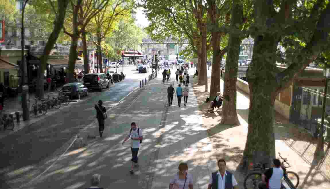 """Paris veut """"favoriser la marche"""" et lance un plan piéton"""
