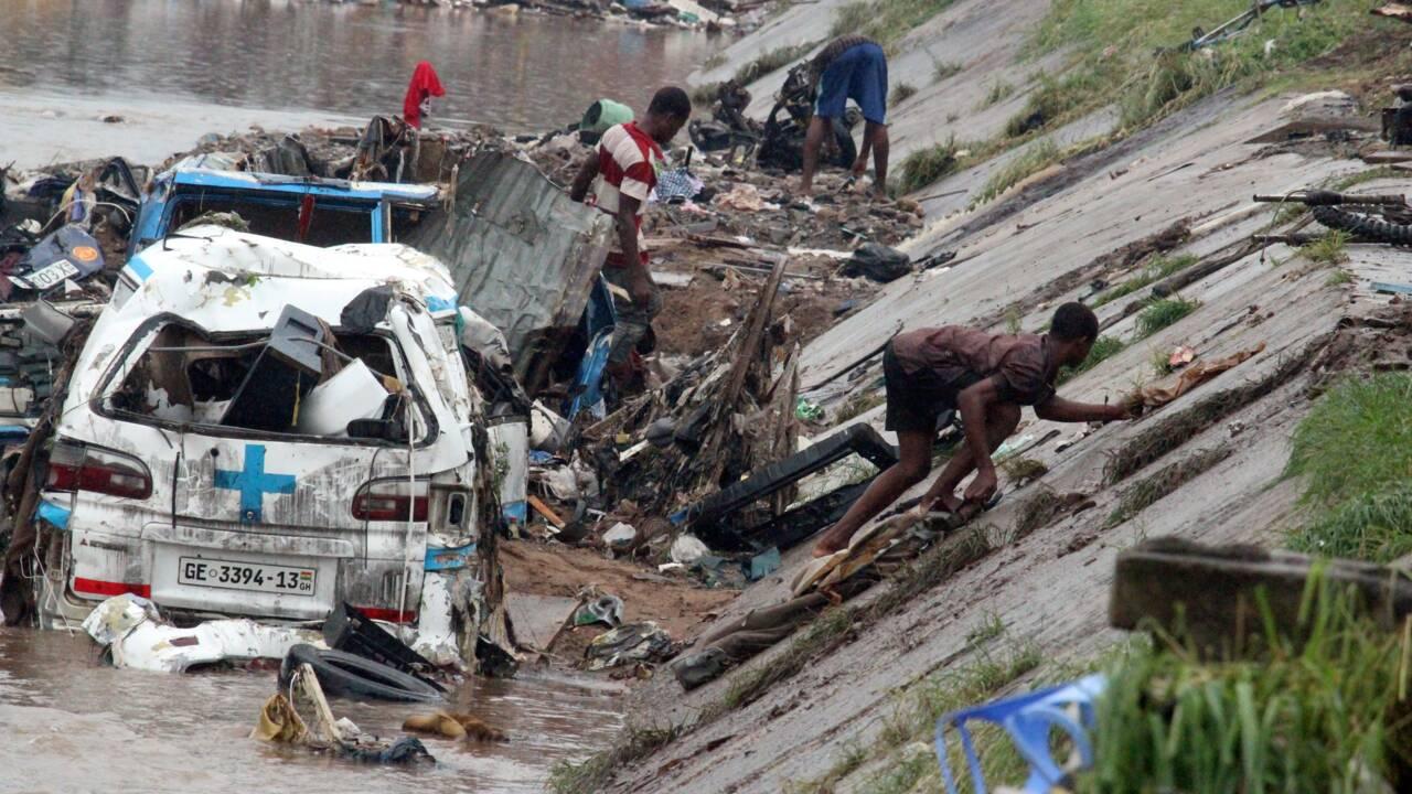 Au Ghana, on vide les égouts pour éviter de nouvelles catastrophes